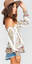MUMU Raquel Smocked Top FINAL SALE