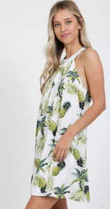 Pineapple T-Back Dress