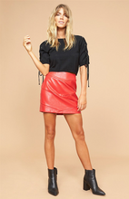 Baddie Skirt Red
