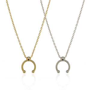 The Dot Arc Necklace