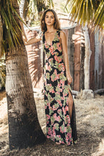 Garden Scoop Back Maxi