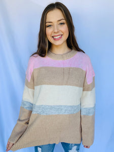The Harmony Striped Sweater
