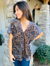 Karlie / The Brooke Leopard V-Neck