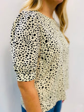 Spot Off The Press Ivory Blouse