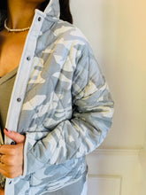Z Supply / Maya Camo Quilted Jacket