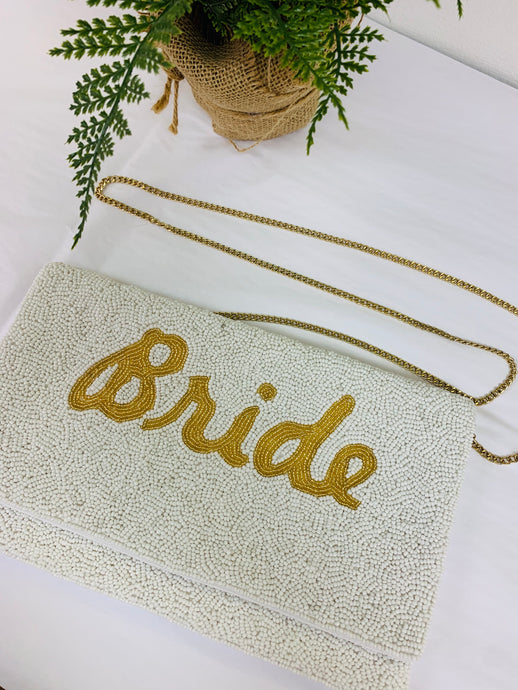 The Bride Bead Clutch