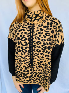 THML/The Juliette Leopard Sweater