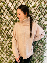 The Mya Turtleneck Knit Sweater