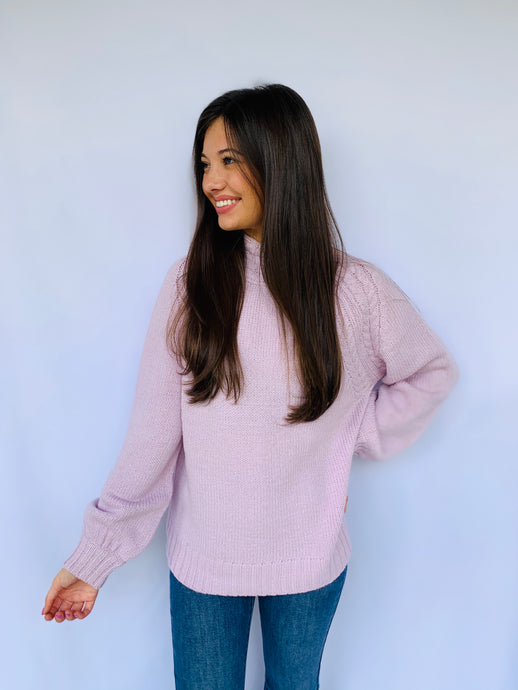 The Ryleigh Lavender Sweater