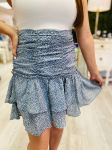 The Cadence Ruffle Skirt