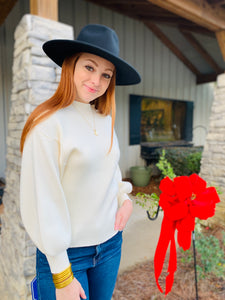 The Mckenna Ivory Sweater