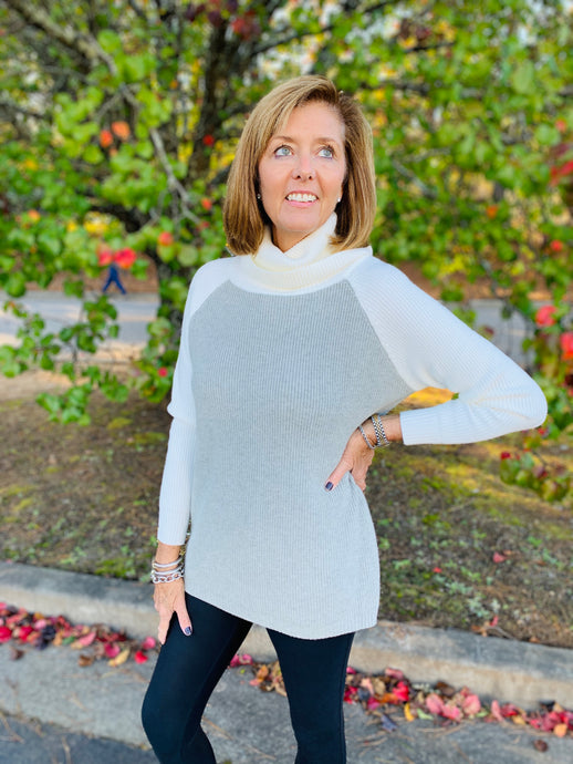 The Allie Turtleneck Sweater