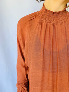 MINK PINK/Volume Sleeve Top