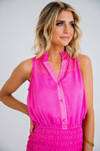 Karlie/Pink Chiffon Dress (FINAL SALE)