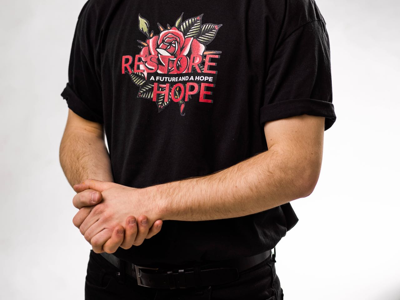 A Future And A Hope (Black T-Shirt)