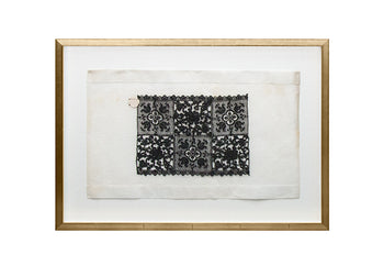 Framed Lace Sampler A