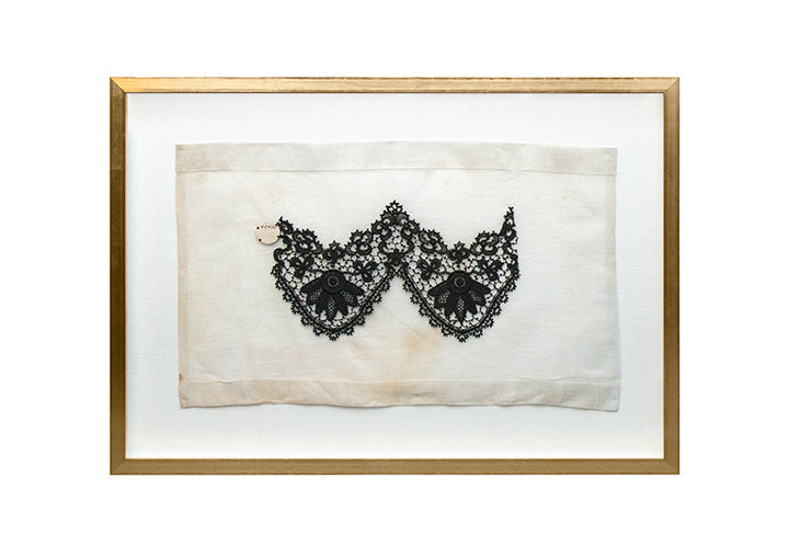 Framed Lace Sampler B