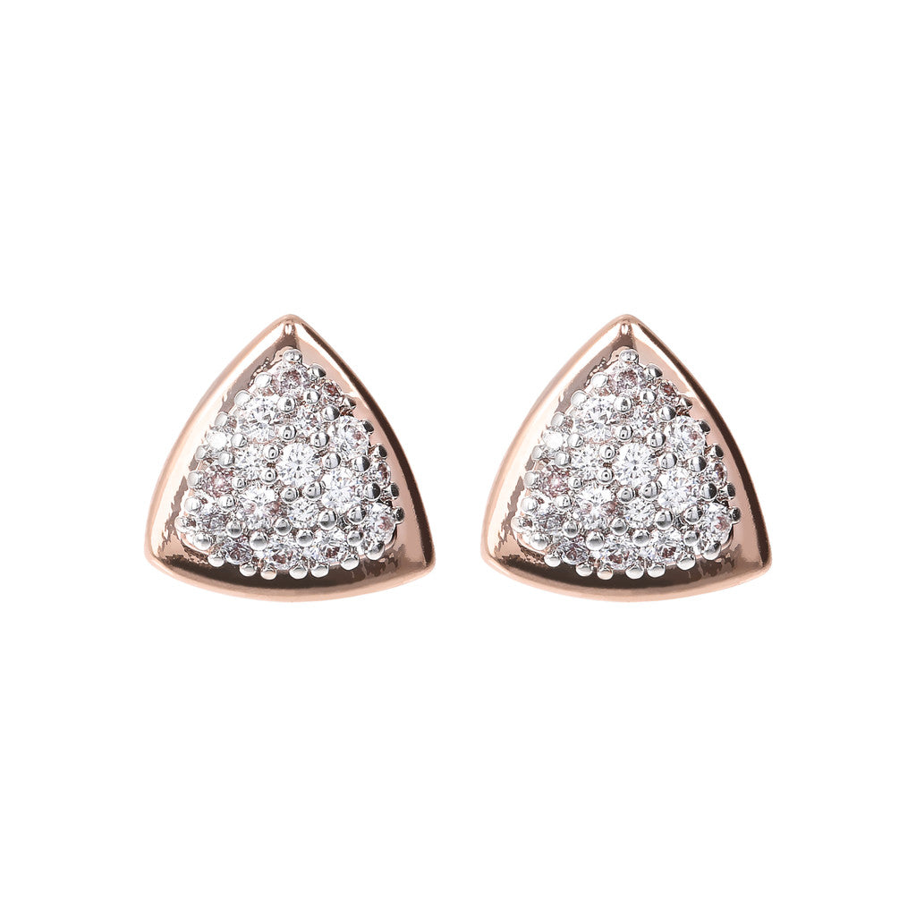 Rectangular CZ Earrings