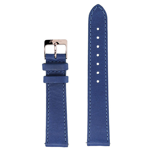 Blue leathers interchangable Bracelets for Alba Watch
