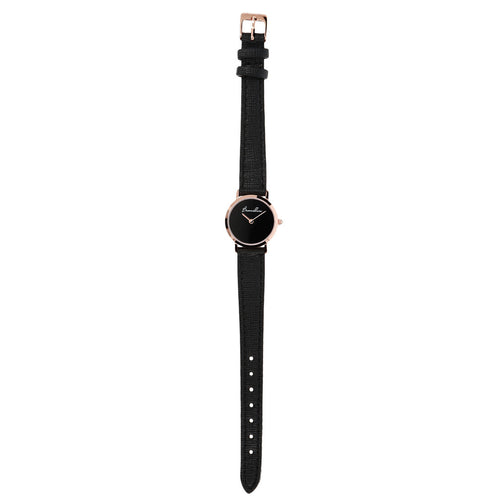 Black onyx watch