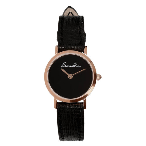 Black onyx watch with Interchangeable bracelet