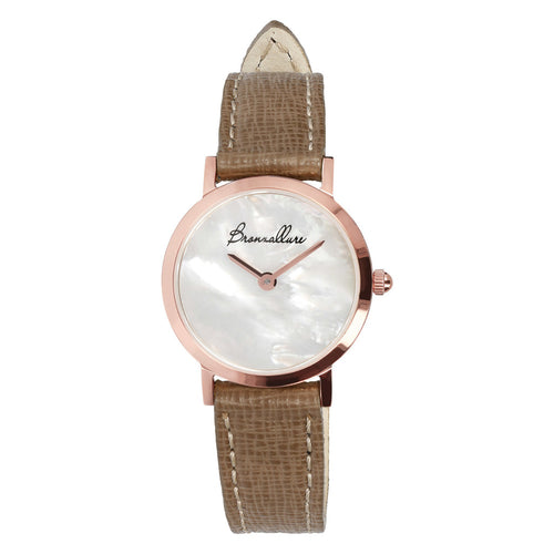 Mother of pearl watch with Interchangeable