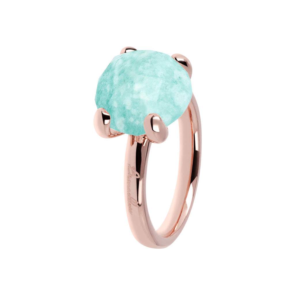 Amazonite Cocktail Ring