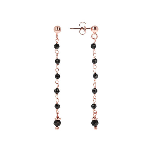 Amorette Earrings front and side