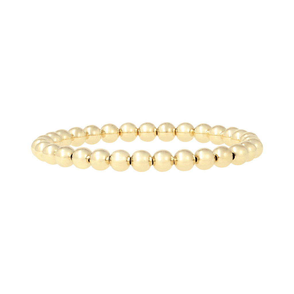 Small Sphere Bracelet Yellow Gold