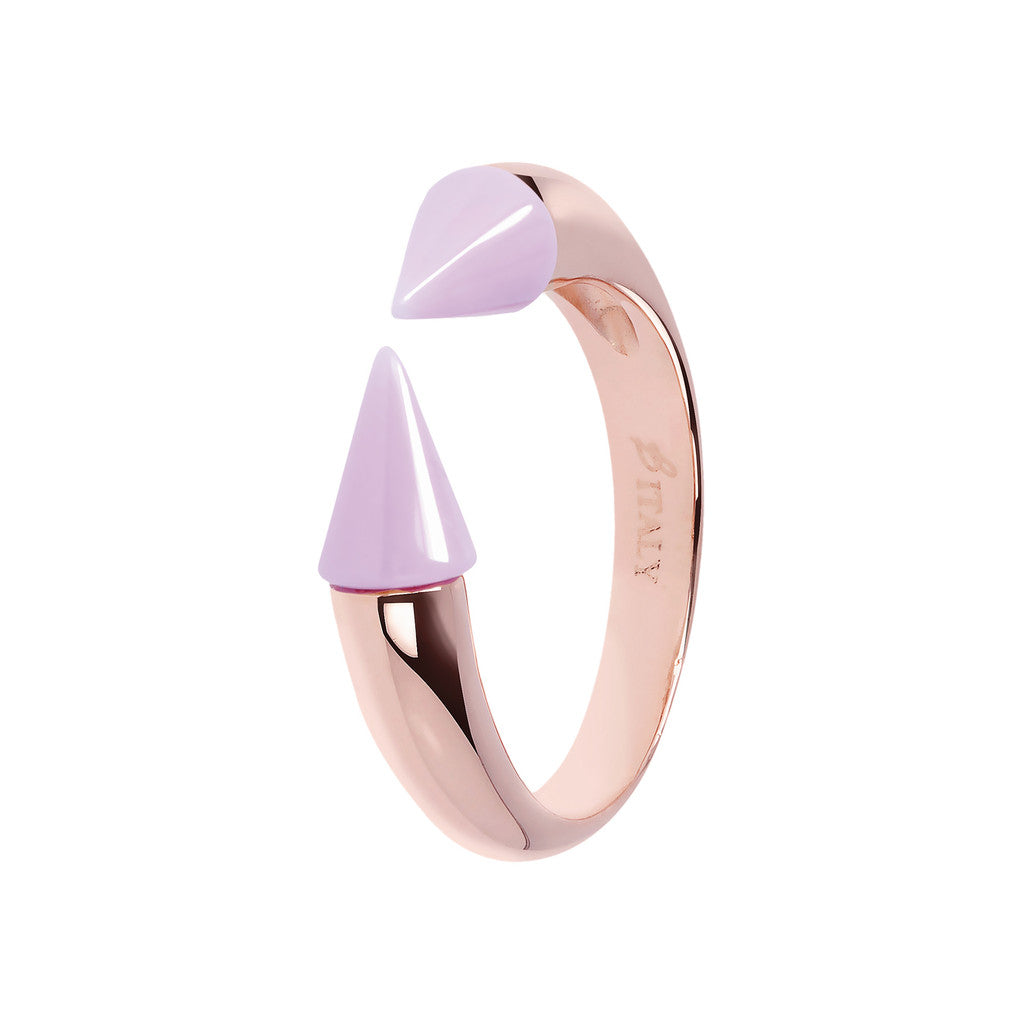 Bicolor Arrow Ring VIOLET CERAMIC