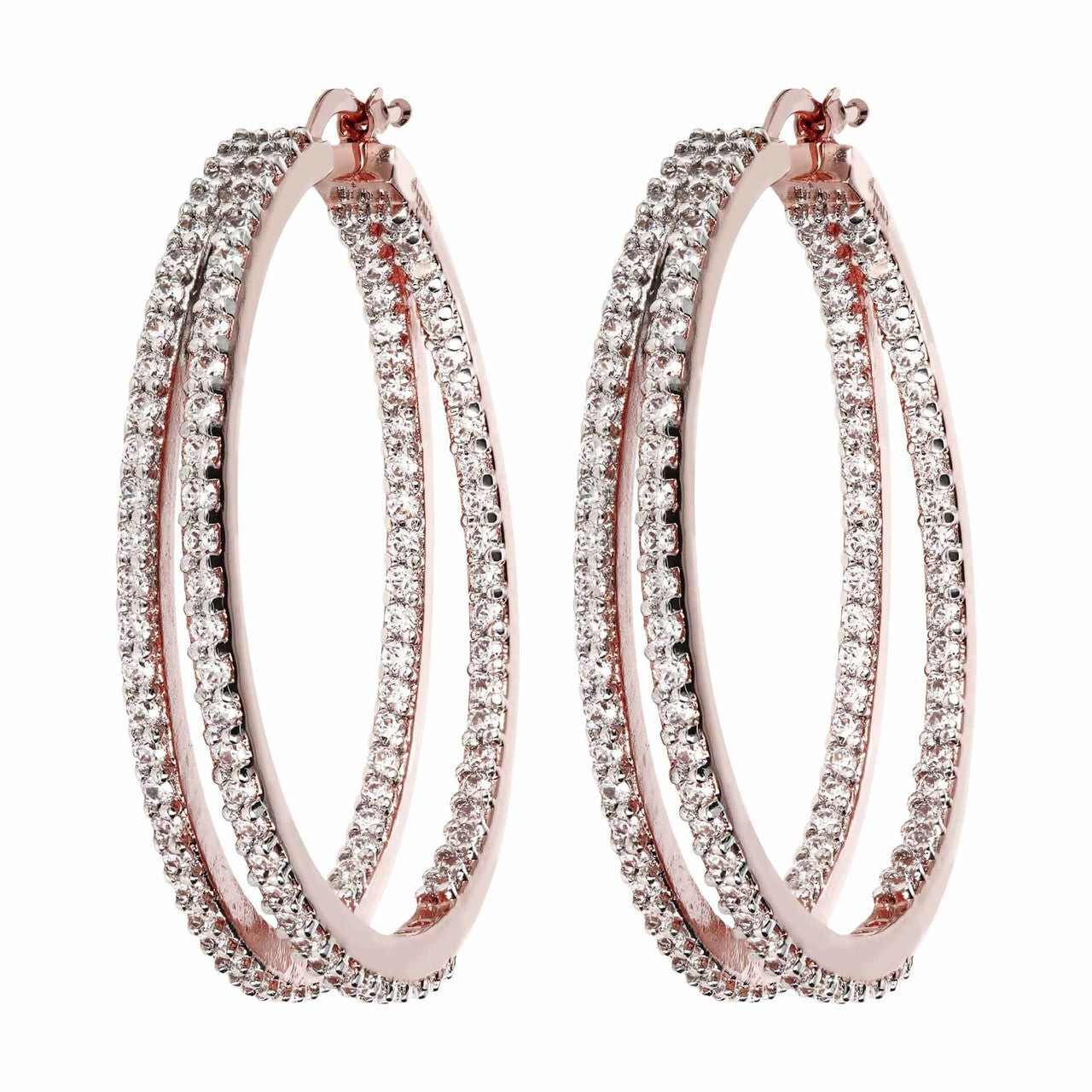 Big hoops earrings