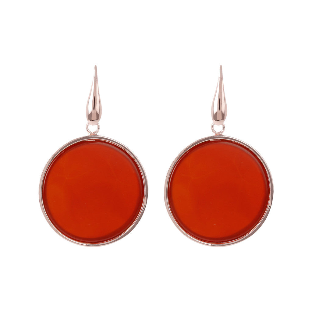 Big Earrings CARNELIAN