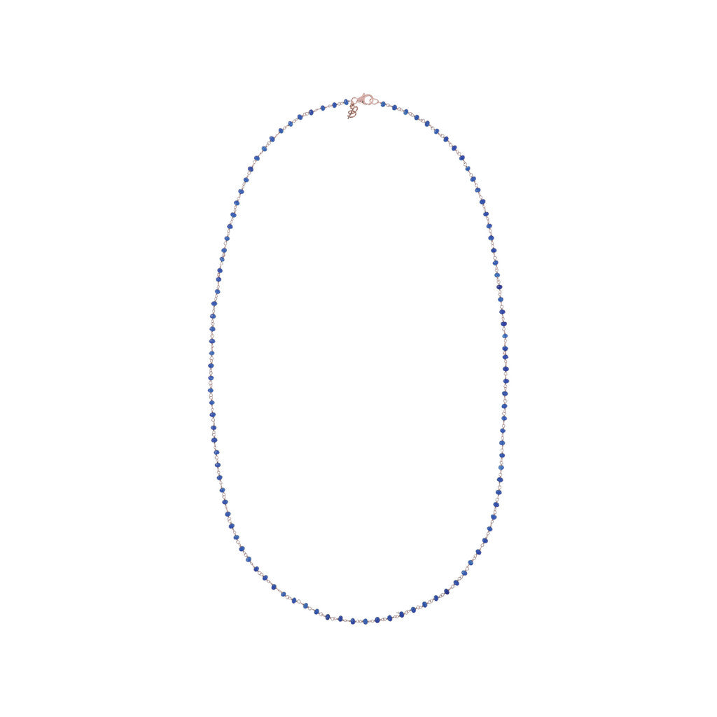Blue Agate Amorette Necklace QUARTZITE