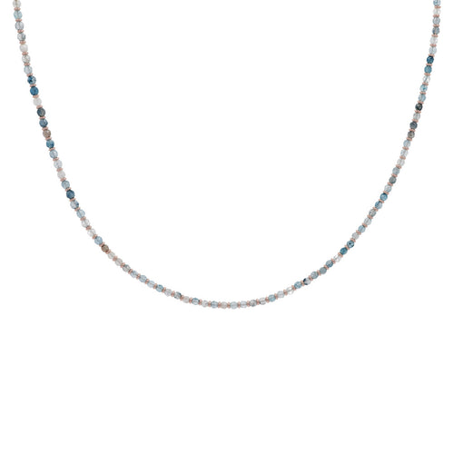 Blue Quartzite Necklace