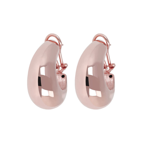 Bold Electroformed Hoops front and side
