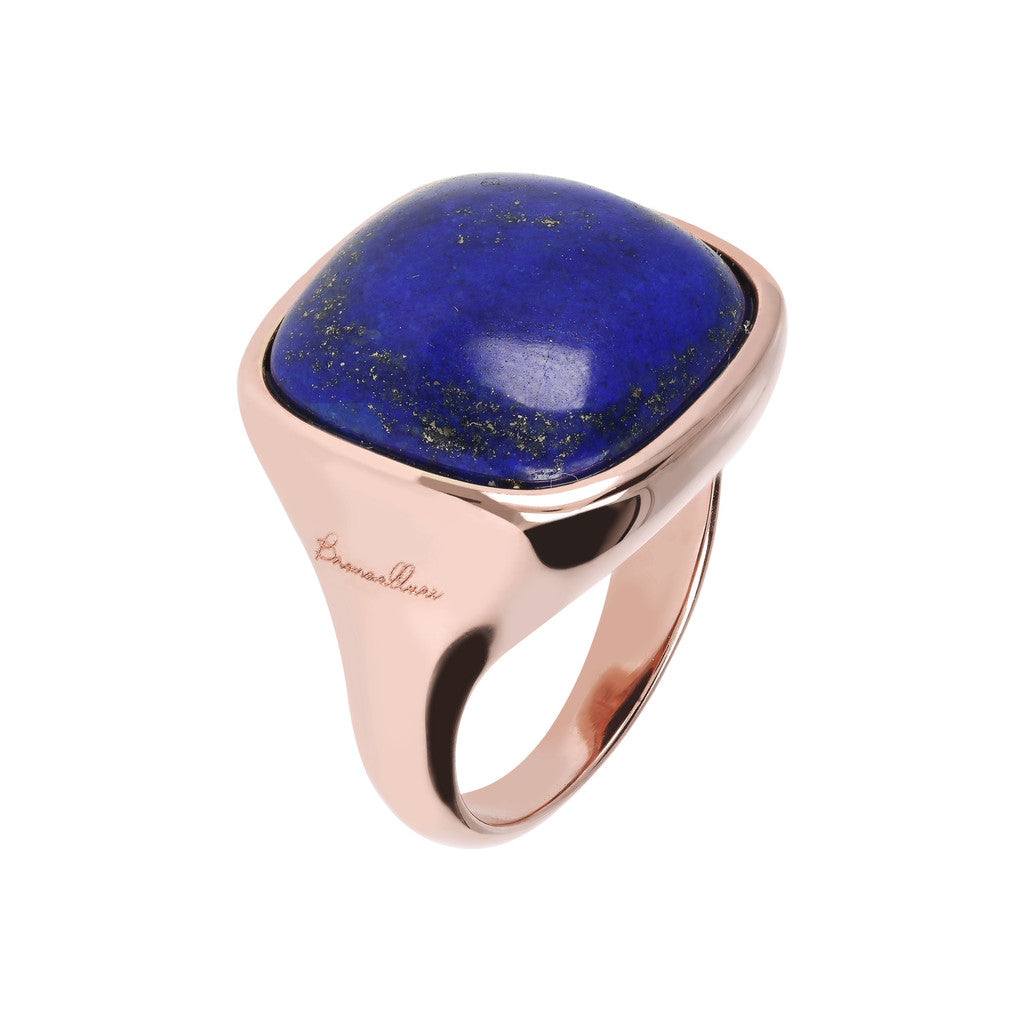 Bold Square Ring LAPIS