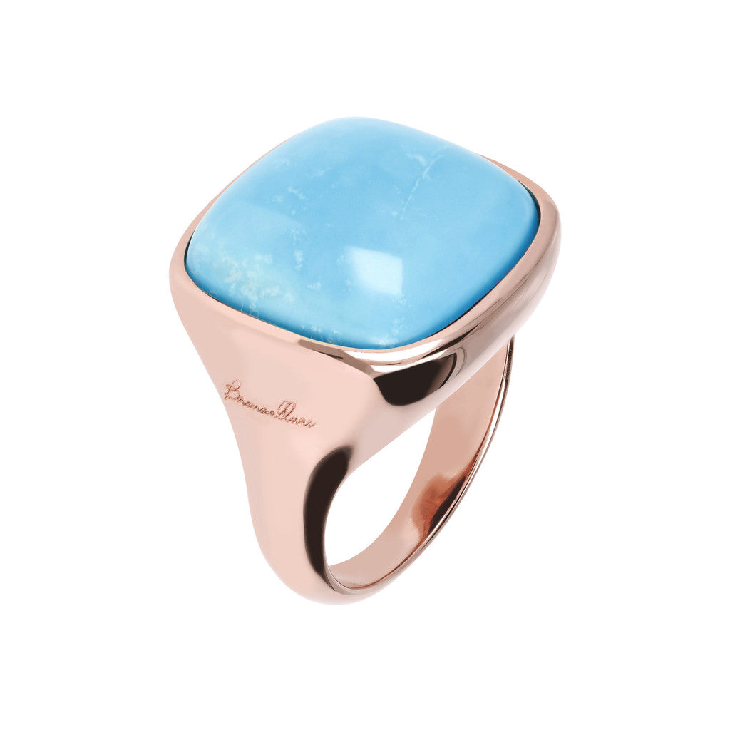 Bold Square Ring MAGNESITE