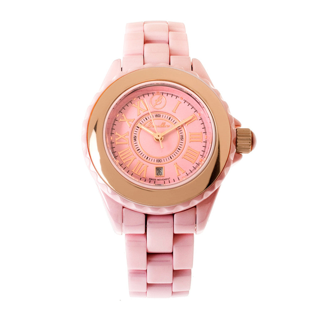 CERAMIC WATCH-PINK CERAMIC