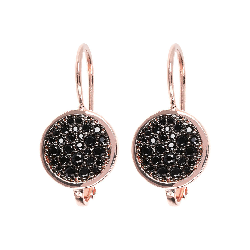 Bronzallure | Earrings | CZ Dangle Earrings with Micropave