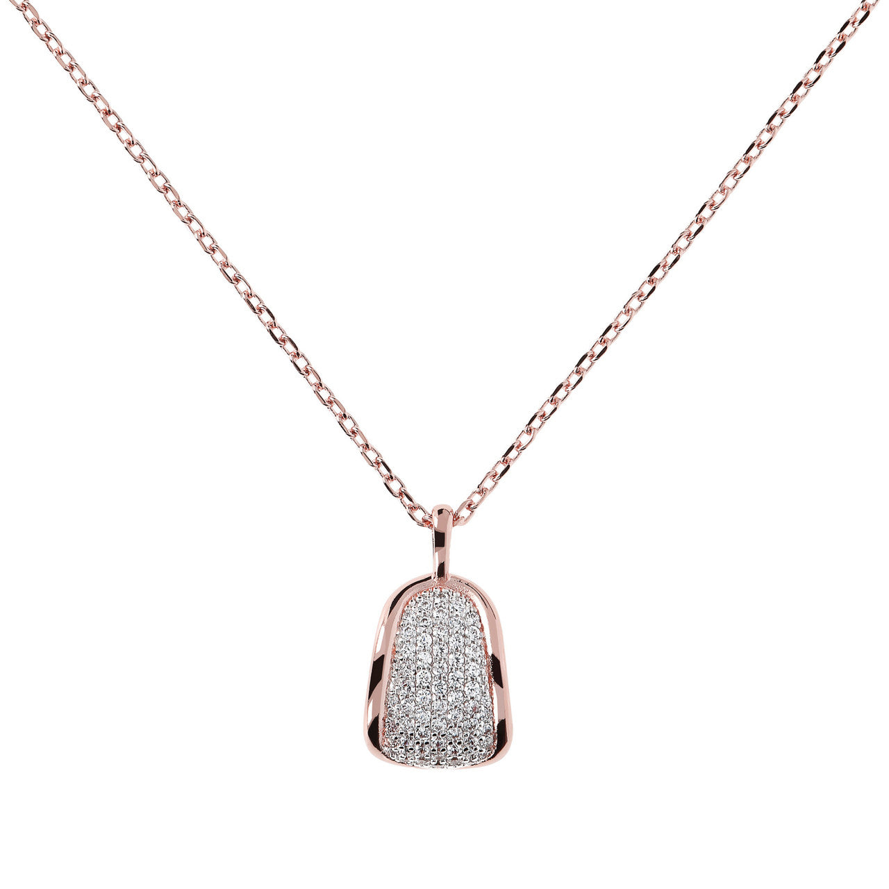 CZ Short Pendant Necklace