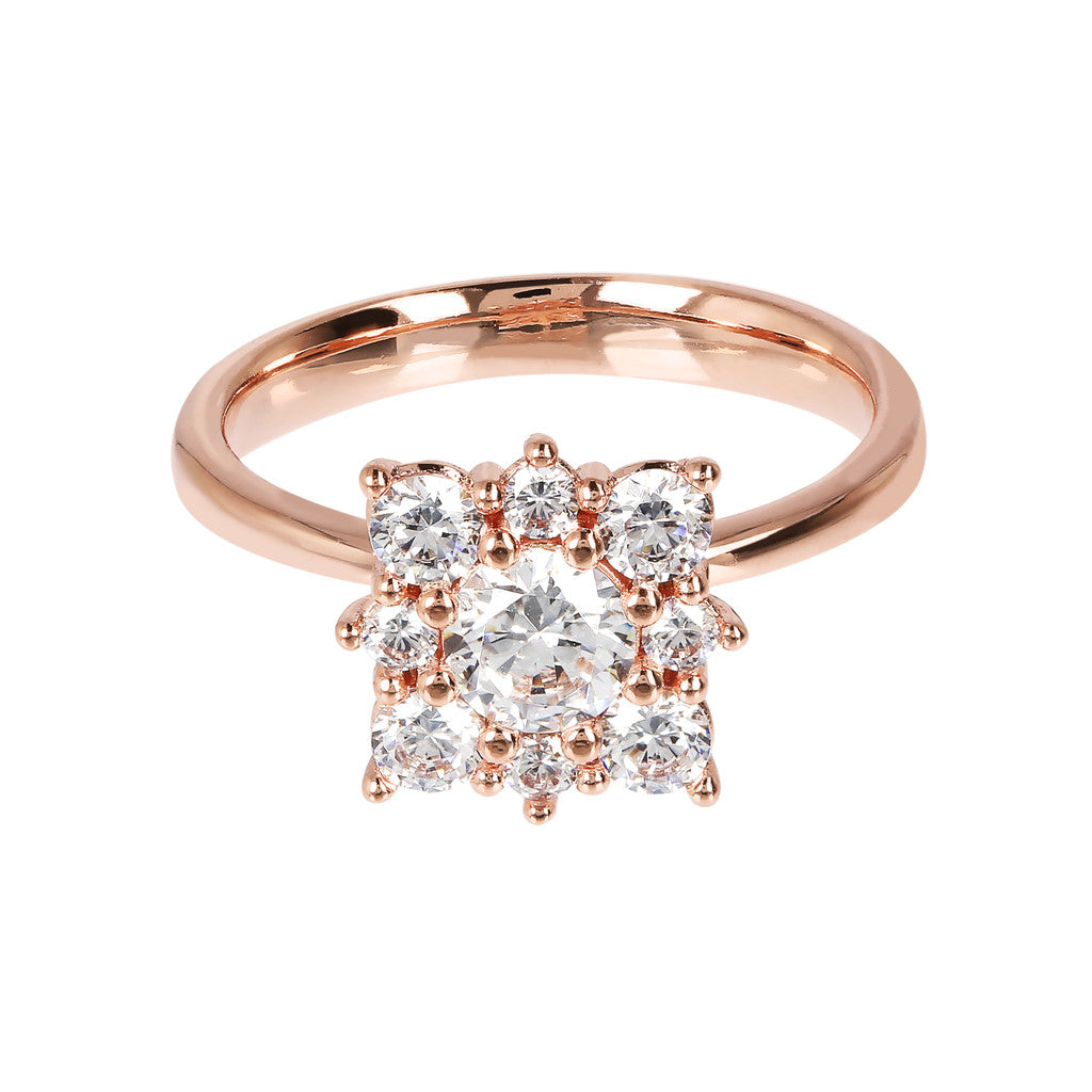CZ Square Ring setting