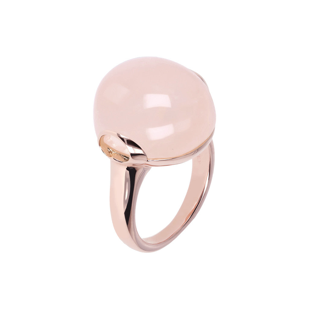 Cabochon Elegance Ring ROSE QUARTZ