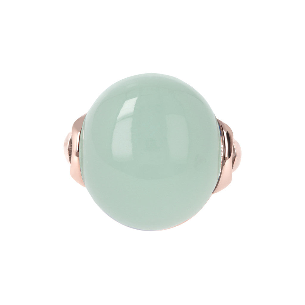 Cabochon Elegance Ring setting