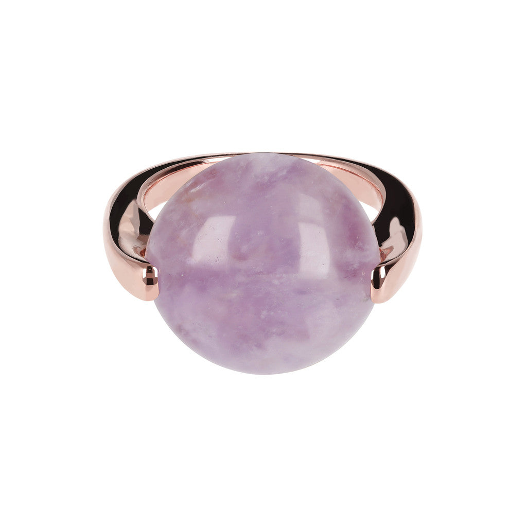 Cabochon Ring Natural Gem setting