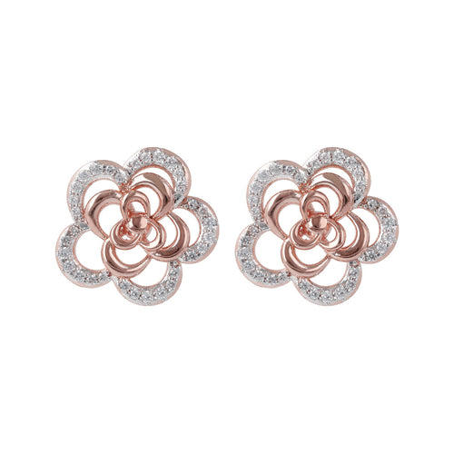 Camellia Flower Earrings