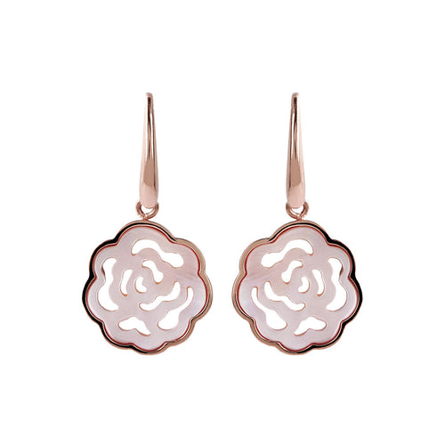 Camellia White Earrings