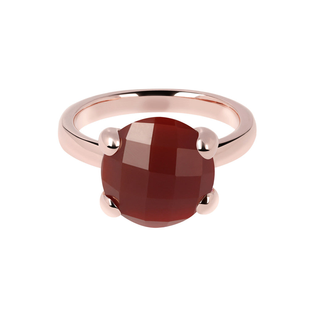 Carnelian Cocktail Ring CARNELIAN setting
