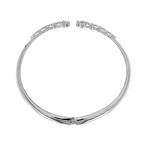 Classic Bangle Luna with CZ side