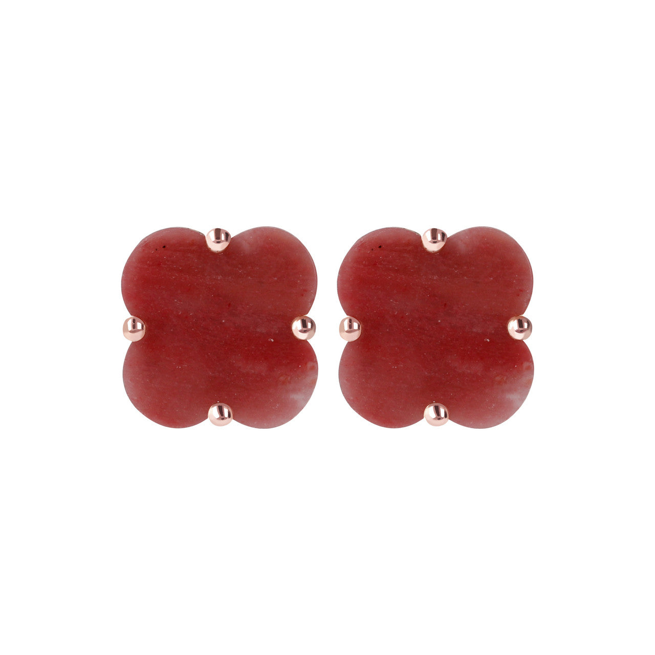 red birthstone january earrings crystal stone stud garnet austrian beautify themselves with