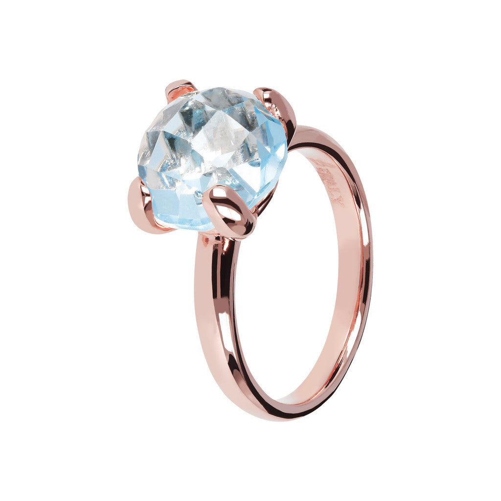 Cocktail Rings with Gemstone BLUE TOPAZ